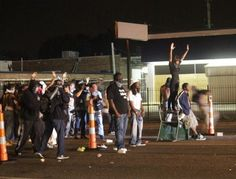 While you were sleeping, things in Ferguson got worse. National Guard called in Monday morning.