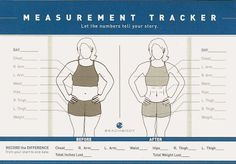 Use this chart to keep track of your measurement successes. Often health is not about your weight, but more about how your body is changing shape! www.facebook.com/eatcleanwithAB