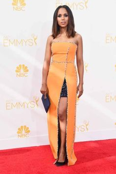 Kerry Washington |Red Carpet Looks From The 2014 Emmy Awards