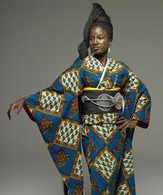 Ai-yo - Serge Mouangue Cameroonian Kimono
