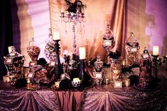 masquerade ball decorations | Masquerade Ball Holiday Party...red/black/white