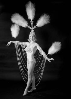 Ringling Circus performer Miss Vicky Unus, 1964