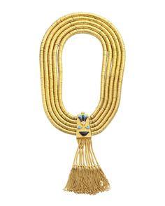 #globetrotting Gold Disc Necklace £96105 Munnu/The Gem Palace at COUTURELAB