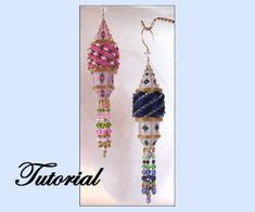 Beaded Secret Tower Beaded Ornament Pattern at Sova Enterprises