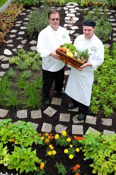 Edible Landscaping, Chef's Garden at Equinox Resort: vegetable garden | jardin potager | bauerngarten | köksträdgård