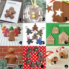 Link Love: Gingerbread Crafts for Christmas