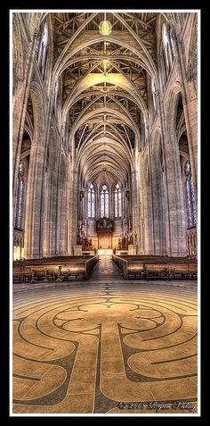 Grace Cathedral, Nob Hill, San Francisco, by Ryan Salsig
