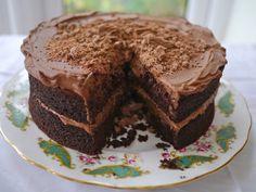 Gluten-Free Chocolate Fudge Cake