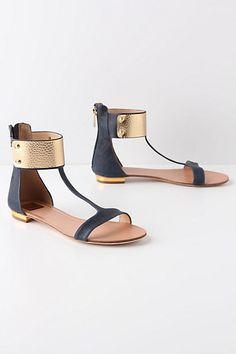 Embraced Sandals  #anthropologie