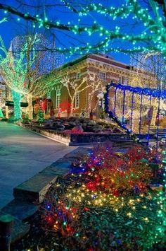 christmas lights fayetteville arkansas | Fayetteville, AR