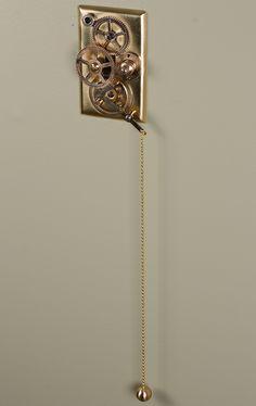 Steampunk light switch.