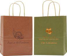 Autumn Twisted Handled Bags #StationeryStudio
