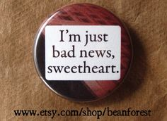 bad news sweetheart by beanforest on Etsy, $1.50