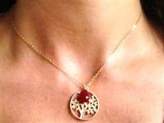 $48 Tree of Life with Ruby Quartz