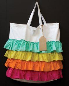 canvas bag! Cute!