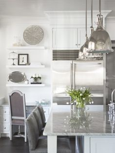 styling kitchen shelves.  Kitchen Shelves Design, Pictures, Remodel, Decor and Ideas - page 36