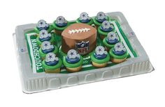 Dallas Cowboys Cupcake Platter