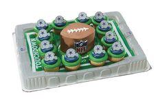 Dallas Cowboys Cupcake Platter