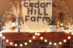 sugar pie, christma decor, pie farmhous, christma wonder, farmhous christma, farm sign