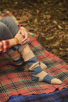 camp & trail sock pattern, ravelry