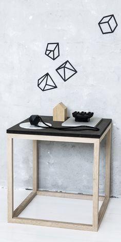 The Cube table | Kristina Dam Studio