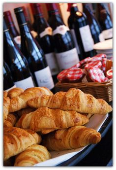 Wine & Croissants from Paris, France