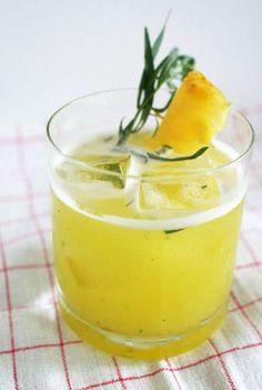 Moon Safari (tequila + pineapple)