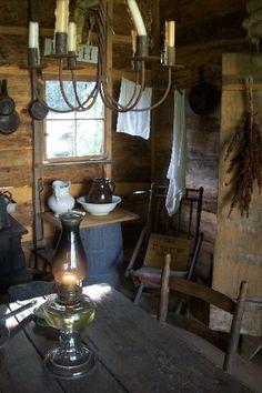 cabin, primit decor, primit décor