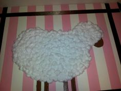 Made this for my sisters baby shower...sheep theme