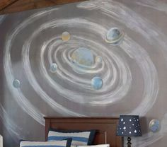 Galaxy Mural, Pottery Barn Kids