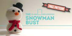 Snowman Bust