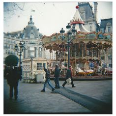 Paris with a Diana F+