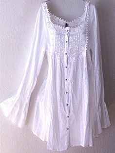 Love, Love, Love!  have to find this blouse, it would also look great in  a sleeveles tank or with babydoll sleeves