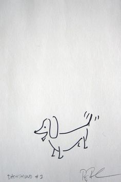 Doxie sketch
