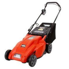 BLACK & DECKER CM1836 18-Inch 36-Volt Cordless Electric Lawn Mower  $350