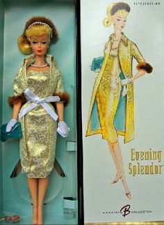 vintag barbi, favorit barbi, outfit, the dress, thing barbi, box, barbi doll, barbie, reproduct barbi