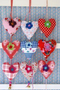 Lovely heart door hangers