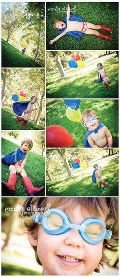 superhero photography ideas, super hero birthday, birthday photos