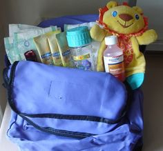 Emergency bags for kids