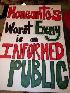 Monsanto #gmo