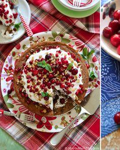 Cinnamon Coffee Cake recipe on FamilyFreshCooking.com © MarlaMeridith.com