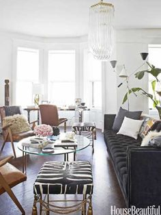 Nate Berkus Home Office Makeover - Nate Berkus Decorating Ideas - House Beautiful #thingsmatter