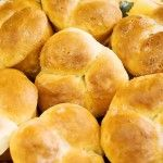 PW no-knead dinner rolls and they're so so so good
