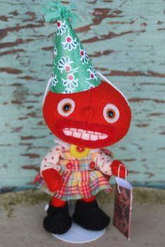 Eeek! So cute! Jody Battaglia Tessy the Tomato Girl