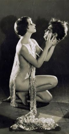 Kathryn Stanley as 'Salome' - c. 1926 - Photo by Edwin Bower Hesser - @~ Mlle