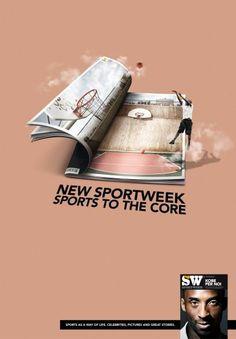 Sportweek magazine, La Gazzetta dello Sport: Basketball | Ads of the World™