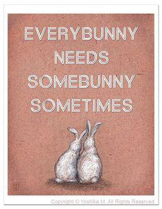 every bunny...really
