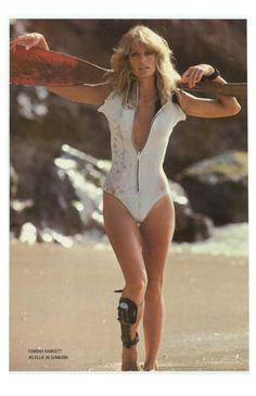 Farrah Fawcett (I have this poster) i collected alot of charlie's angels posters back then..yes i was a fan of charlie's angels tv show the original series...