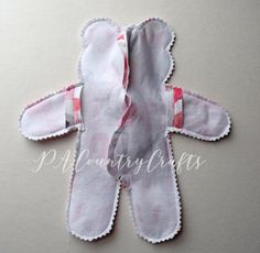 sewing an easy memory bear