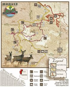 HMP Trails Map